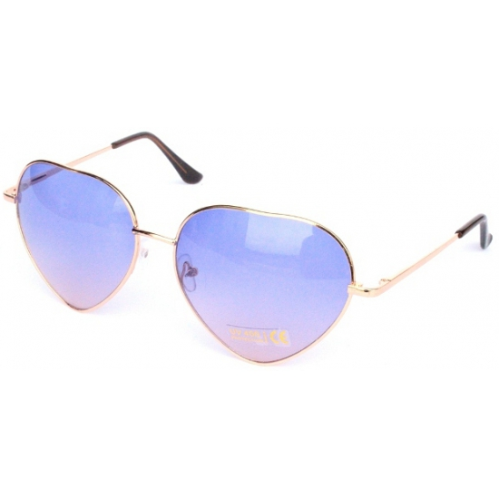 7719dc0ee1e4c2 Festival zonnebril met lila hartjes glazen